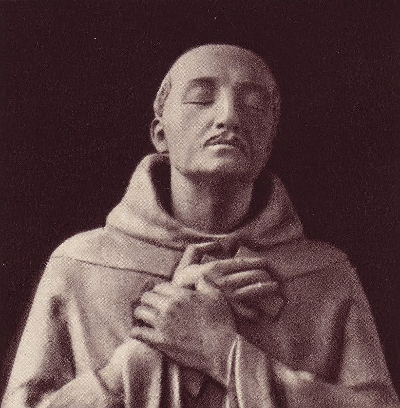 St. John of the Cross sculture by Magdeleine Weerts Our whole life is a prayer a loving an adoring contemplation that nothing must interrupt -  Charles de Fouchauld