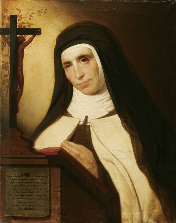 FRANS DE WILDE Blessed Anne