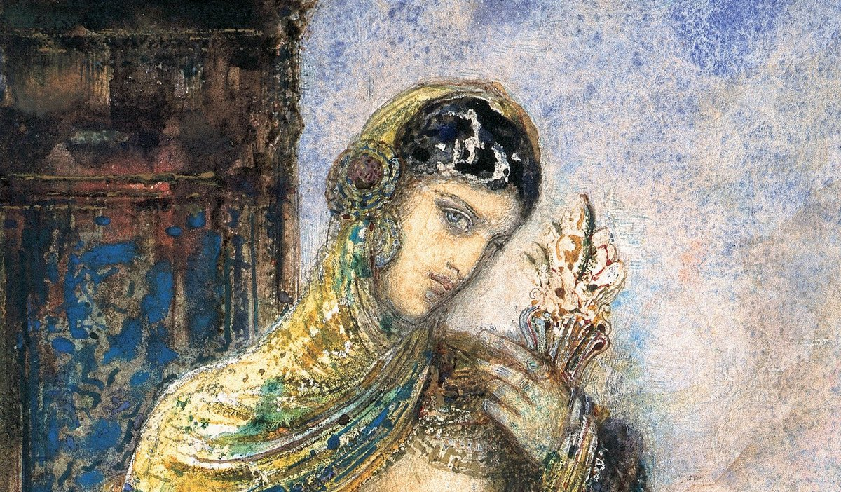 Gustave Moreau Song of Songs Cantique des Cantiques Google Art Project 001