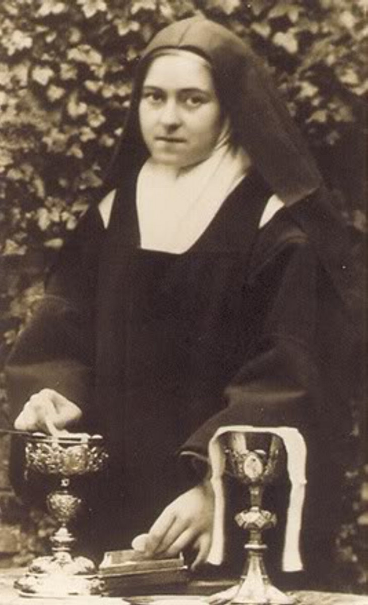 st therese as sacristan