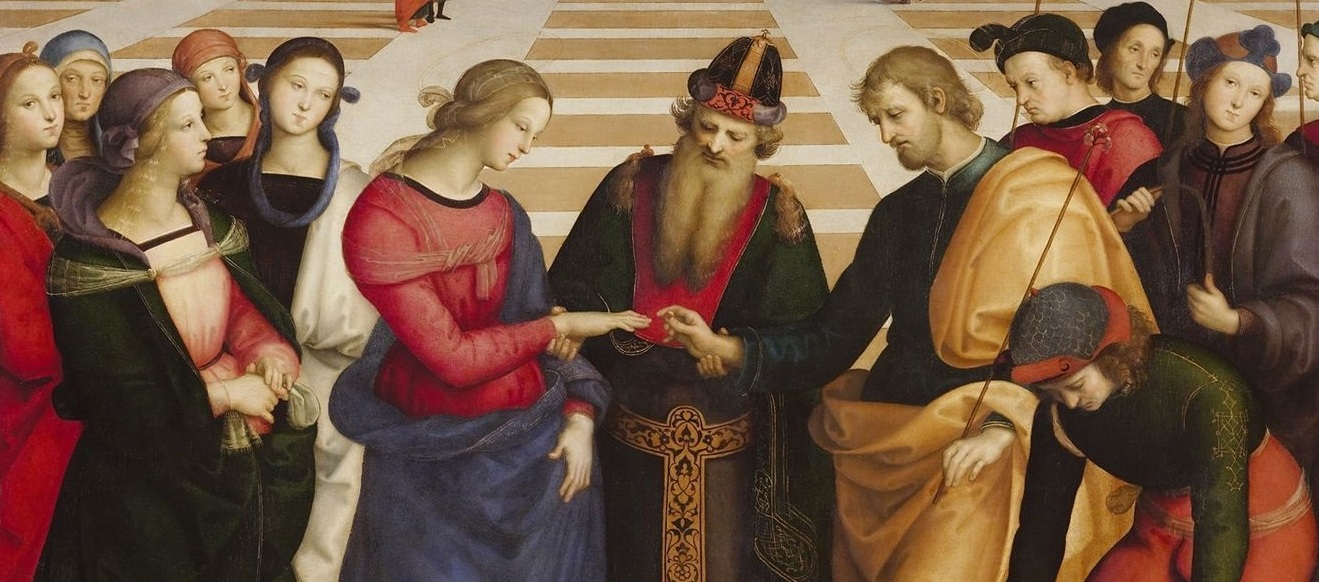 Raffaello - Spozalizio - Web Gallery of Art r